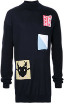 J.W.Anderson patches knit