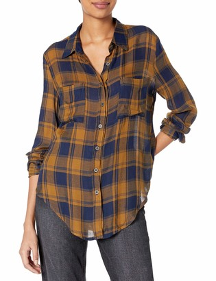 LIRA Women's Anarchy Plaid TOP