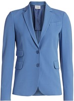 Akris Punto Two-Button Pocket Blazer