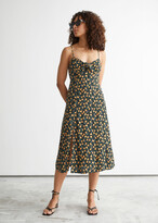 Thumbnail for your product : And other stories Strappy A-Line Midi Dress