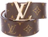 Louis Vuitton Monogram Initiales 40MM Belt