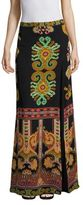 Etro Silk Paisley Maxi Skirt