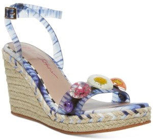 Betsey Johnson Elli Wedge Sandals Women's Shoes