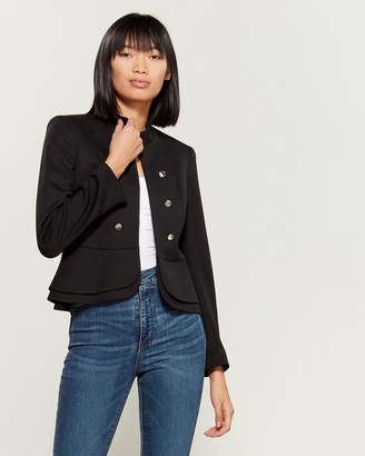 Tahari Military Inspired Fitted Jacket
