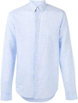 Theory Rammy shirt - men - Cotton/Linen/Flax - M