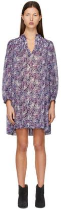 Etoile Isabel Marant Purple Virginie Dress