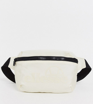 Ellesse Rosca cross-body bag in stone exclusive at ASOS