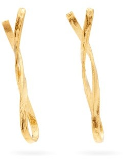 Alighieri The Infinite Song 24kt Gold-plated Drop Earrings - Gold