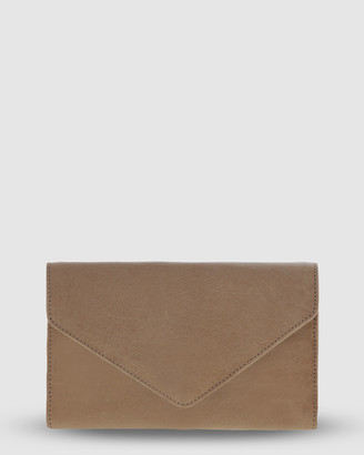 Cobb & Co - Women's Yellow Wallets - Hamilton Leather Envelope Style Wallet - Size One Size at The Iconic