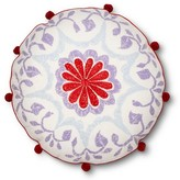 John Robshaw Medallion Toss Pillow 18x18 Inch - Multicolor