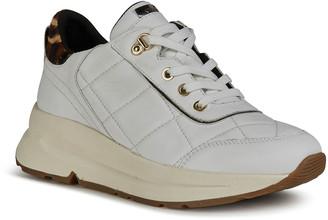 Geox Backsie 17 Quilted Napa Sneakers