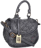 Frye Norah Woven Mini (Light Grey Dip Dyed Veg Tan) - Bags and Luggage