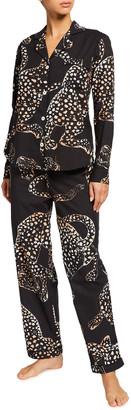 Desmond & Dempsey Soleia Signature Cotton Pajama Set