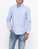 Gitman Brothers Blue Oxford L/S Popover