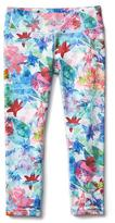 Athleta Girl Printed Chit Chat Capri