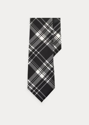 Ralph Lauren Plaid Silk Tie