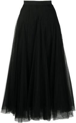 Fabiana Filippi Midi Tulle Skirt