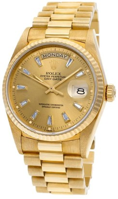 Rolex 1985 pre-owned Day-Date 36mm