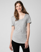 Le Château Jersey Scoop Neck T-Shirt
