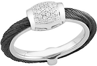 Alor Noir 18K 0.14 Ct. Tw. Diamond Ring