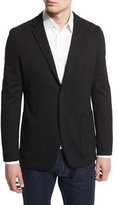 Theory Tobius Harvel Two-Button Sport Coat, Black