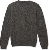 A.p.c. - Mélange Wool And Alpaca-blend Sweater