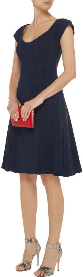 Zac Posen Stretch-jacquard dress