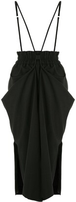 GOEN.J Ruched Pull Up Trousers