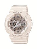 Baby-G White Resin Ana-Digi World Time Watch