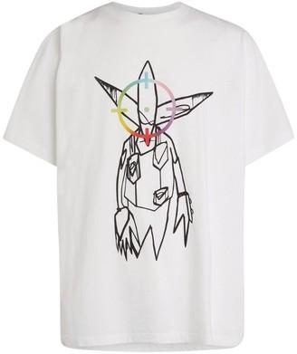 Off-White x Futura Alien T-Shirt