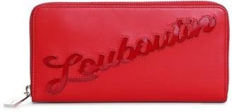 Christian Louboutin Panettone red logo wallet
