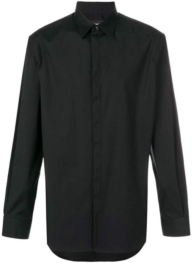 DSQUARED2 panelled shoulder shirt