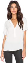 Bishop + Young Front Placket Blouse