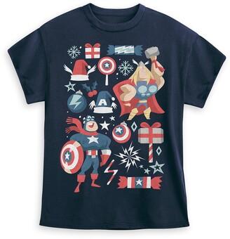 Disney Avengers Holiday T-Shirt for Kids