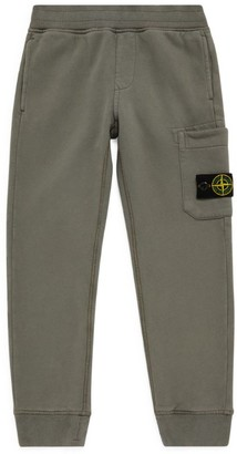 Stone Island Junior Compass Patch Sweatpants (4-14 Years)