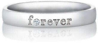 De Beers Platinum and Diamond Forever Band