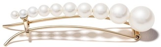 Sophie Bille Brahe 10kt Yellow Gold Freshwater Pearl Hairclip
