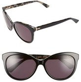 Ted Baker Women's 56Mm Cat Eye Sunglasses - Black