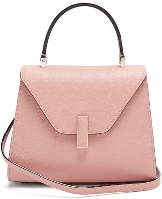 Valextra Iside Small Leather Bag - Light Pink