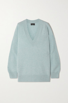 Rag & Bone Logan Cashmere Sweater - Blue