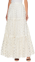 Temperley London Star Jacquard Maxi Skirt