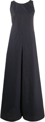 YMC Striped Wide Leg Jumpsuit