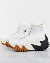 Thumbnail for your product : Converse Run Star Motion trainers in white