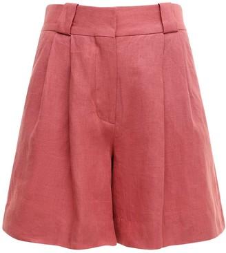 BLAZÉ MILANO Midday Sun Linen Fell Shorts