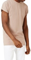 Topman Men's Roller Sleeve T-Shirt