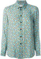 Saint Laurent floral print shirt
