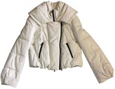 Drome White Leather Leather Jacket for Women