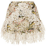 TRYB212 Alice Print Lace Skirt