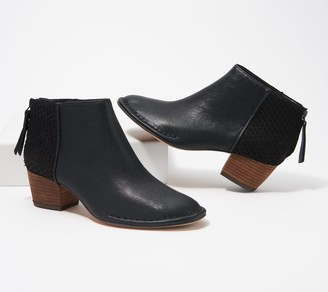 Clarks Leather Ankle Boots - Spiced Ruby