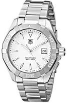 Tag Heuer Aquaracer WAY1111.BA0928 Men's Stainless Steel Chronograph Watch